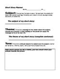 Short Story Planner