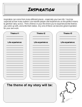 Short Story Planning Packet
