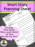 Short Story Graphic Organizer
