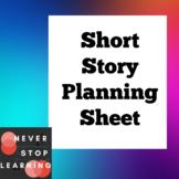 Short Story Planning Sheet