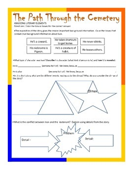 Short Story Plot and Character Activity
