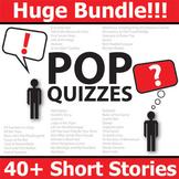 Short Stories Pop Quizzes