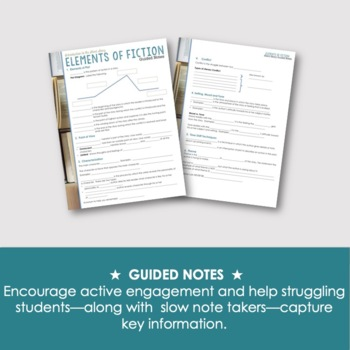 Short Story: PowerPoint, Activities & Printables for ANY Fiction (Grades 7-12)