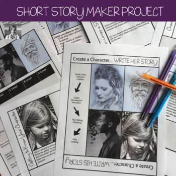Short Story Project: The English Maker Space