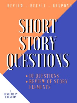 Short Story Questions