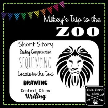 Short Story Reading Activities (Comprehension, Context Clues, Sequencing, etc.)