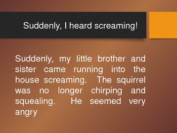 Short Story - The Angry Squirrel