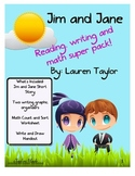 Short Story, Reading, Writing and Math Super Pack!