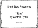"""Short Story Resources: """"Stray"""" by Cynthia Rylant"""