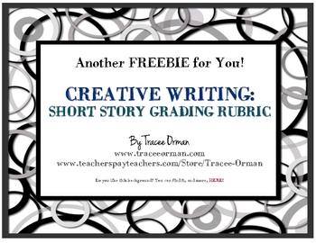 Free Short Story Rubric Creative Writing Peer & Teacher Editing