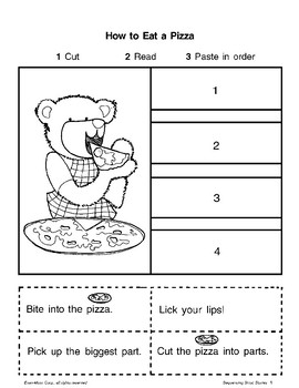 Short Story Sequencing: Food