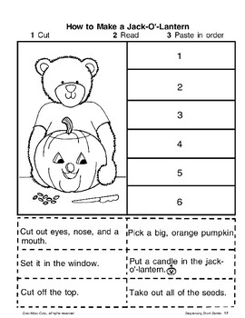 Short Story Sequencing: Halloween