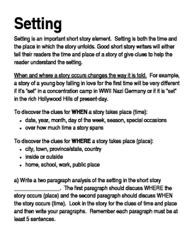 Short story setting overhead note and assignment by relentless short story setting overhead note and assignment thecheapjerseys Gallery