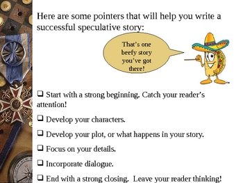 Short Story Speculative Writing Overview