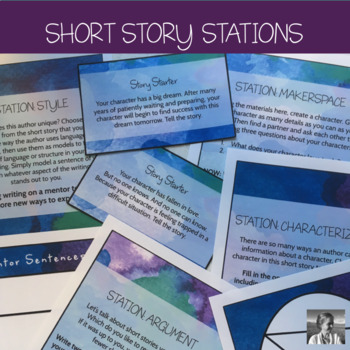 Short Story Stations: Characterization, Style, Setting, Argument, and Makerspace