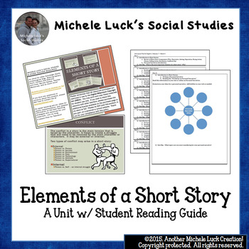 Short Story Student Reading Guide Entire Unit Steinbeck Godwin Walker+