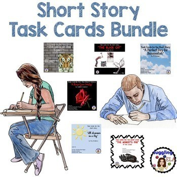 Short Story Task Cards Bundle