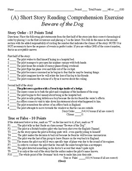 Short Story Test - Beware of the Dog