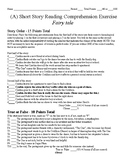 Short Story Test - Fairy Tale