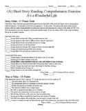 Short Story Test - It's A Wonderful Life
