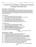 Short Story Test - Leiningen Versus the Ants