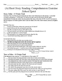 Short Story Test - School Spirit