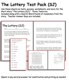 Short Story Test: The Lottery by Shirley Jackson