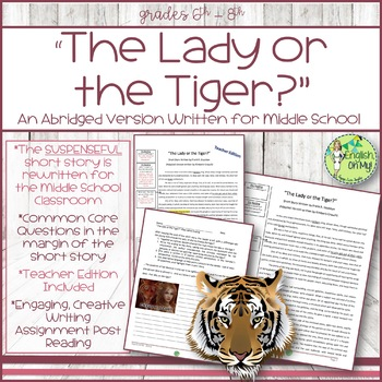 The Lady or the Tiger?, Abridged Version