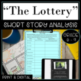 Short Story The Lottery Analysis, Writing and Textual Evid