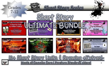 Short Story Ultimate Collection Growing Bundle Common Core Rigor