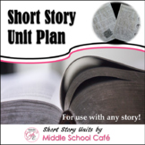 Short Story Unit Plan - Any Story