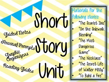 Short Story Unit Bundle