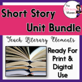 Short Story Unit Bundle: Teaching Literary Elements