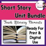 Short Story Unit Bundle: Teaching Literary Elements - Prin