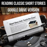 Short Story Unit - Distance Learning - Google Drive - 8 St