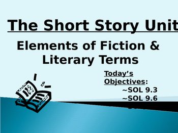 Short Story Unit - English (Grade 9)