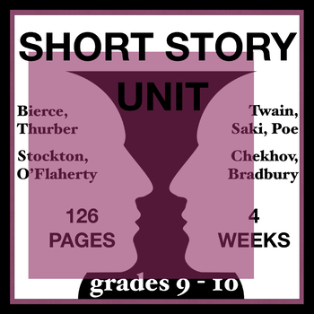 Short Story Unit – 4 WEEKS – Super Quality. Something New to Wow Your Students!