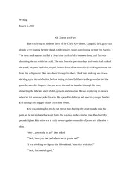 Short Story Unit: Free-Write Prompt, Tips, Model Story, Assessment