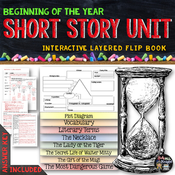 short story unit literature guide flip book by danielle knight tpt rh teacherspayteachers com