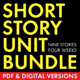 Short Story Unit Plan, 4 Weeks of Dynamic Lessons on Class
