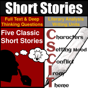 Short Stories Unit Literary Analysis: Over 20 hours of Engaging Instruction