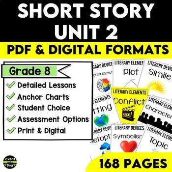 Short Story Unit 2 By 2peasandadog Teachers Pay Teachers