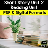 Short Story Unit 2   Distance Learning