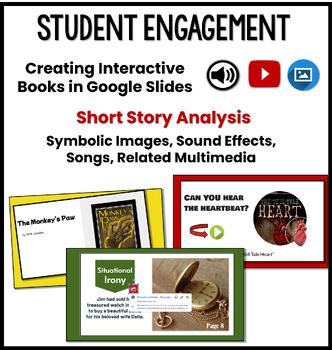 Short Stories Unit: Technology Project - Create an Interactive Flipbook!