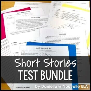 Short Story Unit Test Bundle