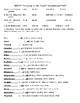 Short Story Unit Vocabulary Bundle  (w/KEY)