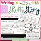 Writing a Short Story-Google Classroom, Digital, Go Google