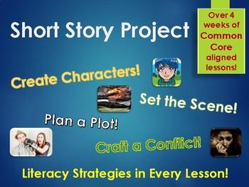 Short Story Writing Project - Full Unit