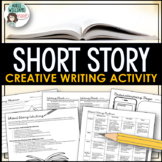 Short Story Writing - Story Starter Idea, Worksheets,Organizers
