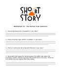 Short Story Sheet #1 - The Perfect First Sentence